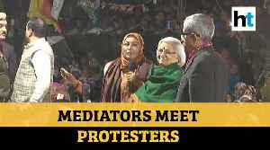 Shaheen Bagh Protesters Met Mediators [Video]