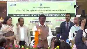 CM Hemant Soren inaugurates summit on sustainable development [Video]