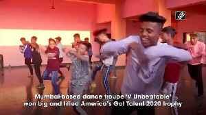 Meet America's Got Talent champions 'V Unbeatable' [Video]