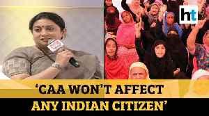 'Kids are taught to raise kill PM Modi slogans: Smriti Irani on CAA protests [Video]