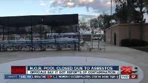 Asbestos found in N.O.R pool located adjacent to North High School [Video]