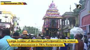 Devotees take out chariot procession to celebrate Maha Shivratri in Tamil Nadu [Video]