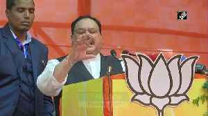 People of J and K are happy after abrogation of Article 370 JP Nadda [Video]