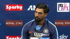 Will comeback on 3rd day of Test match Ishant Sharma [Video]