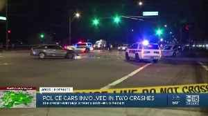Officer Involved Crash [Video]