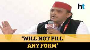 'Don't support any law that divides people': Akhilesh Yadav on CAA, NRC & NPR [Video]