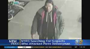New Video Shows Suspects In Stabbing, Robbery Of Pizza Deliveryman In Brooklyn [Video]
