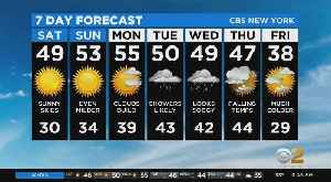 New York Weather: 2/22 CBS2 Weather Headlines [Video]