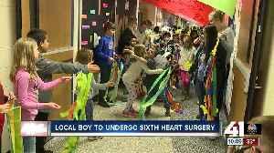 Local boy to undergo sixth heart surgery [Video]