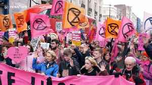 "Extinction Rebellion hold ""Enough is Enough"" march in central London [Video]"