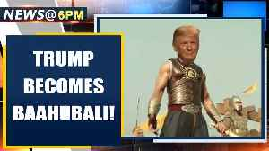 US President Donald Trump shares video of himself as Baahubali | Oneindia [Video]