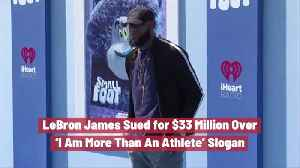LeBron James Hit With 33 Million Dollar Lawsuit [Video]