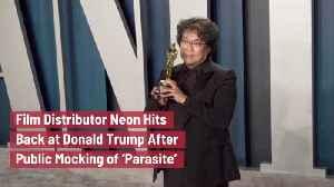 This Film Distributor Hits Back At Trump [Video]
