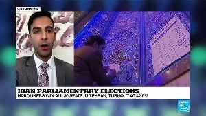 Iran parliamentary elections : Hardliners win in Tehran, turnout at 42,6% [Video]