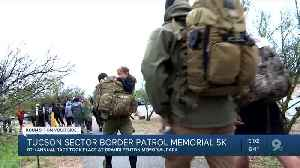 Runners take on rain during the 8th annual 5K to honor fallen border patrol agents [Video]