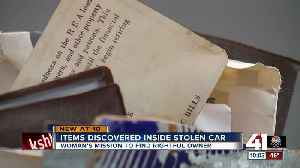 Kansas City woman's mission to find stolen car takes unexpected turn [Video]