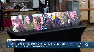 Runners tough out the rain to run in honor of fallen Border Patrol agents [Video]