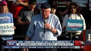 Sen. Sanders Holds Rally In Town [Video]