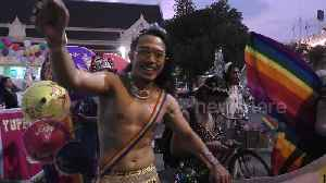 Hundreds join colourful Pride Parade in Thai city [Video]