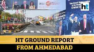 From hoardings to Motera stadium, how Ahmedabad will host US President [Video]