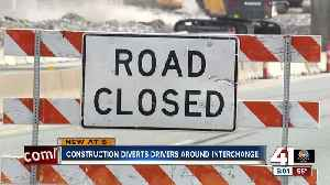 Construction diverts drivers around interchange [Video]