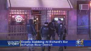 Stabbing Leaves One Dead At Richard's Bar In Fulton River District [Video]