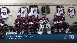 Fouhy's Small Stars: Junior Coyotes hit the ice [Video]