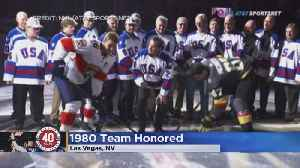 'Miracle On Ice' Players Honored In Vegas [Video]