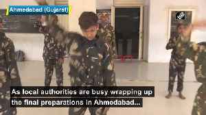 Young acrobats prepare for President Trump roadshow in Ahemdabad [Video]