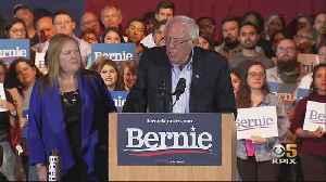 SANDERS WIN: Presidential contender Bernie Sanders is projected as winner of Nevada Democratic caucuses [Video]