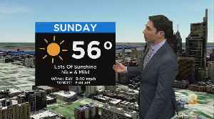 Philadelphia Weather: Wonderful End To The Weekend [Video]