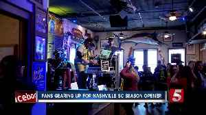 Fans gearing up for Nashville SC season opener next week [Video]