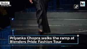 Priyanka Chopra sets the ramp ablaze at Blenders Pride Fashion Tour [Video]