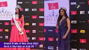 Btown celebs attend red carpet of Miss Diva 2020 [Video]