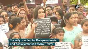 Women, children join rally against child abuse in Chennai [Video]
