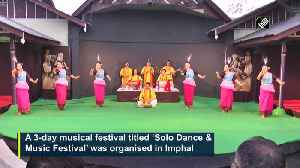 3 day music and dance fest commences in Imphal [Video]