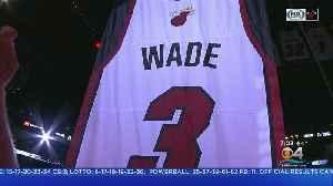 Miami Heat Retire Dwyane Wade's Jersey [Video]