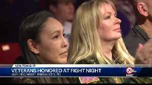 Highly decorated Army Reserve Soldiers Honored at Fight Night [Video]