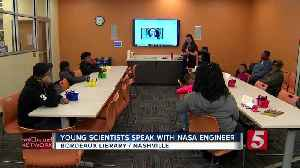 NASA engineer speaks with young scientists at Bordeaux library [Video]