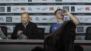 Eddie Jones: We stepped up today and we will again for Wales [Video]