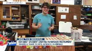 Kenmore West student creates homemade instrument [Video]