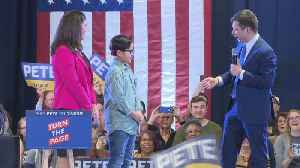 WEB EXTRA: 9-Year-Old Asks Presidential Candidate Pete Buttigieg Serious Question [Video]