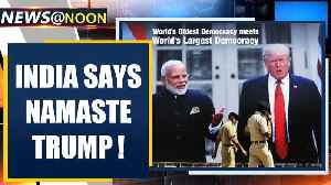 India says Namaste Trump; All eyes on roadshow, Motera event | Oneindia News [Video]