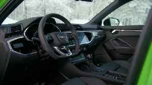 The new Audi RS Q3 Interior Design in Kyalami Green [Video]