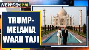 US President Donald Trump along with wife Melania Trump visits the Taj Mahal in Agra | OneIndia News [Video]