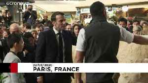 Macron defends EU agricultural policy at Paris showcase