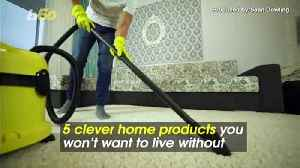 5 Clever Home Products You Won't Want to Live Without [Video]