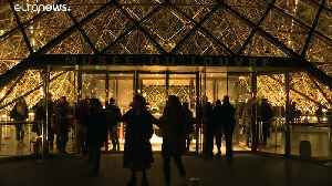 Louvre opens all-night for free for last weekend of Da Vinci exhibition [Video]
