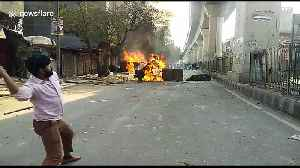 Locals for and against India's Citizenship Act pelt stones at each other as violence in Delhi erupts [Video]