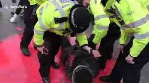 Police arrest activist outside Belmarsh Prison as Julian Assange extradition hearing begins [Video]